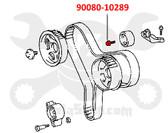 Toyota Engine Timing Belt Idler Pulley Bolt 90080-10289