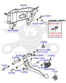 Toyota 4Runner & Tacoma (96-01) OEM Clutch Pedal Assembly Complete  KIT-1050