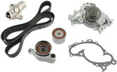 Timing Kit- Toyota 3.0L 1MZFE & 3.3L 3MZFE Camry, Highlander, Sienna & Solara Engine Timing Belt Kit with Water Pump &  Hydraulic Tensioner (2001-2010) TKT-026