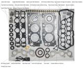 Gasket Set- Toyota 3.4L 5VZFE 4Runner, T100 & Tacoma OEM Full Engine Gasket Set (1994-2000) 04111-62081