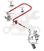 Throttle Cable- Toyota 4Runner & Pickup Truck 2.4L 22RE (1988-1995) OEM Accelerator Cable 78180-35052