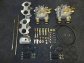 22R 40mm Dual SideDraft Carb Kit - CARBX-0003