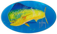 Guy Harvey Bull Dolphin Domed Sticker