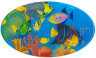 Guy Harvey Tropical Fish Domed Sticker