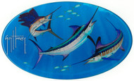 Guy Harvey  Grand Slam Domed Sticker