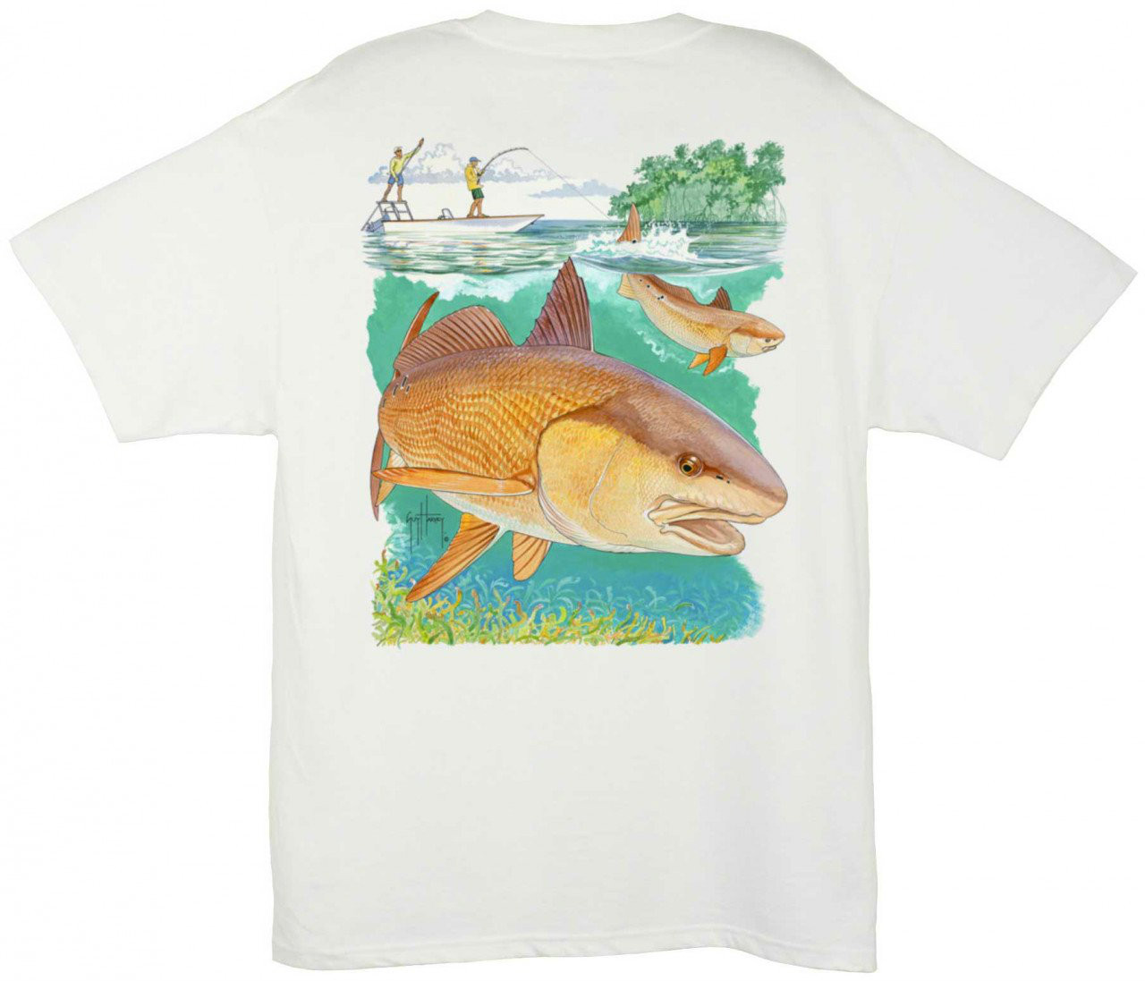 Guy Harvey Youth Redfish Sea T-Shirt