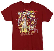 Guy Harvey FSU Seminoles Boys Tee Shirt in Garnet