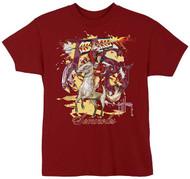 Guy Harvey FSU Seminoles Boys Tee Shirt in Garnet
