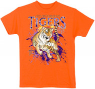 Guy Harvey Clemson Tigers Boys Tee Shirt in Orange