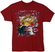 Guy Harvey South Carolina Gamecocks Boys Tee Shirt in Garnet