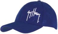 Guy Harvey Diamond Embossed Acrylic/Spandex Hat in Royal Blue or Black