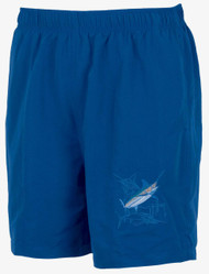 Guy Harvey Grand Slam Swim Trunk in Mint, Sky, Coral, Kiwi, Black, Royal Bue, Red, Orange, Gold, Kiwi or Teal
