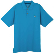 Guy Harvey AFTCool Performance Polo in White, Black, Blue, Melon, Red, Yellow or Aqua Blue