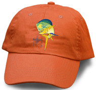 Guy Harvey Bull Dolphin Youth Hat in Navy