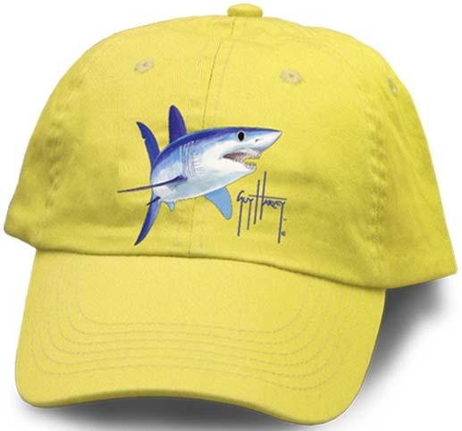 Guy Harvey Mako Shark Youth Hat in Blue abe5b0c1f087