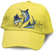 Guy Harvey Grand Slam Youth Hat in Yellow