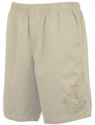 Guy Harvey Cayman Classic Short in Black, Natural, Khaki or Fatigue
