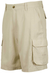 Guy Harvey Cargo Short in Khaki, Olive, Slate Blue and Stone