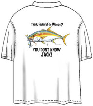 Tom Waters You Don't Know Jack Back-Print Tee w/ Pocket in White or Black