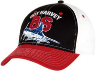 Guy Harvey Harvey 86 Men's Hat in Black