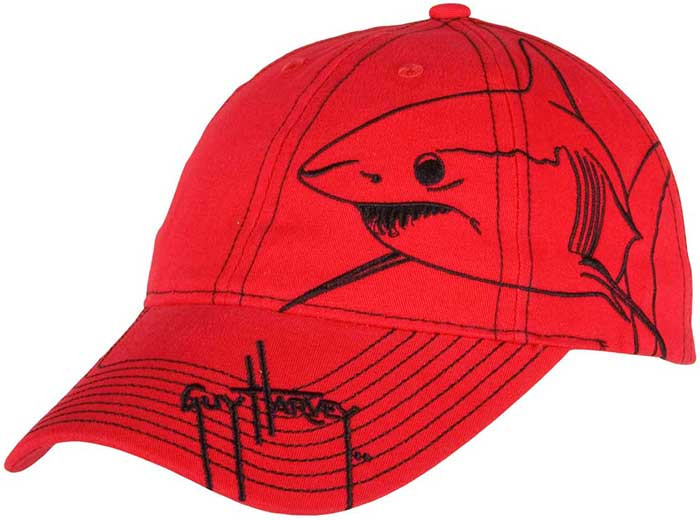 Guy Harvey Mako Brushstroke Youth Hats cc947aa0cfa3