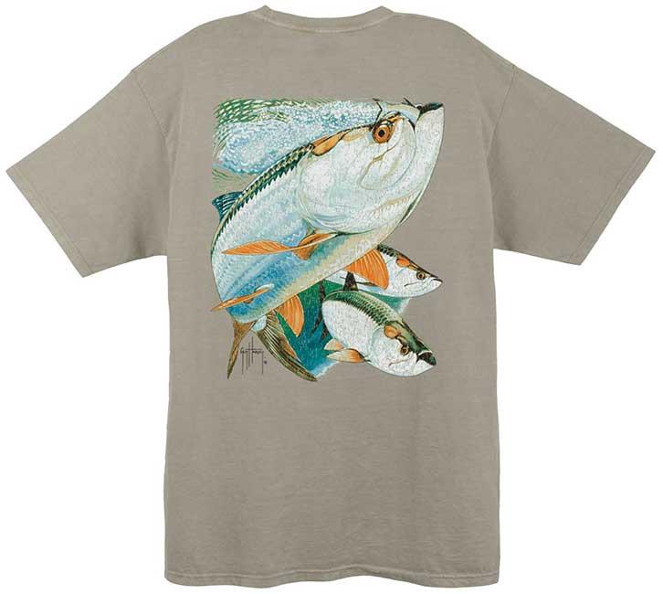 Trio Largemouth Bass Fishing T-Shirt