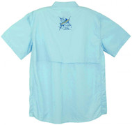 Guy Harvey Grand Slam Technical Fishing Shirt (Short or Long Sleeve) in Aqua Blue, Sky Blue, Yellow, Tan, Black, Kiwi, Melon or White