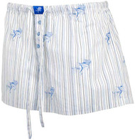 Guy Harvey Sailfish Signature Junior Ladies Dorm Short in Blue, Lime or Pink