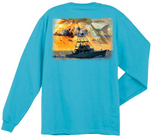 Cruisin  Also Available in Short Sleeve (Colors Vary)