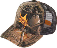 Guy Harvey Realtree Camo Cotton Twill & Mesh Truckers Hat
