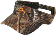 Guy Harvey Realtree Camo Cotton Twill Visor