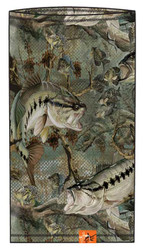 Guy Harvey Strike Camo Sun Mask in Fatigue