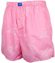 Guy Harvey Brushstroke Slam Unisex Boxer Short in Pink or Red