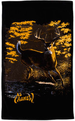 Al Agnew Whitetail Deer Beach / Sport Towel