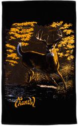 Al Agnew Whitetail Deer Beach / Sport Towel
