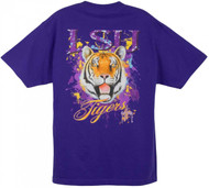 LSU Tigers Also Available in Long Sleeve (Gold Shirt)