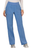 Cherokee Revolution Mid Rise Straight Leg Pull-on Pant