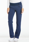 iFlex Mid Rise Straight Leg Pull-on Pant Navy Blue