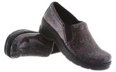 Klogs Naples Paisley Patent Professional Shoe