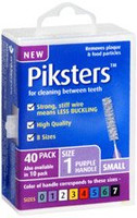 Piksters Purple Size 1 - 40 pack