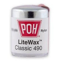 POH Classic Super Thin White 490 LiteWax Dental Floss - 100yds