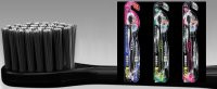 DentalPro Black Medium Compact Head Toothbrush