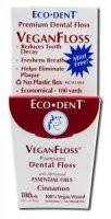 Eco-Dent 100% Vegan Waxed Cinnamon Floss