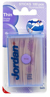 Jordan Dental Wooden Sticks - Mint - Thin Size