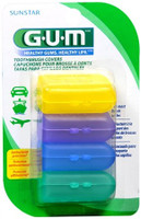 GUM ToothBrush Covers - 4 Pack