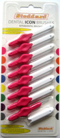 Stoddard ICON Soft Interdental Brushes XXXX Fine -1.8mm Pink - 8 Brush Pack