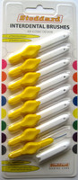 Stoddard OPTIM Soft Interdental Brushes Fine -3.5mm Yellow - 8 Brush Pack