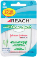 Reach Clean Burst - Icy Spearmint Waxed Floss - 100 yds