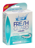 Fresh Guard by Efferdent Dental Device Cleansing Soak - 24 Pack