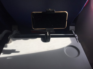Airplane Tray Phone Mount